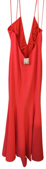 Item - Coral Red 108608 Long Formal Dress Size 12 (L)