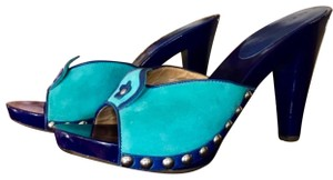 Marc by Marc Jacobs Blue Mules