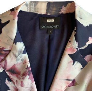 Cynthia Rowley Silk Floral Belted Statement Spring Dress