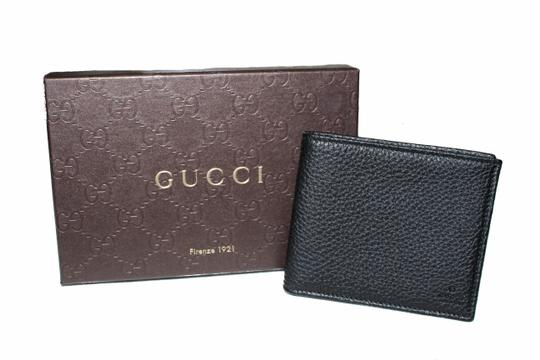 Gucci New Gucci Black Soho Leather Bifold Men's Wallet Image 9