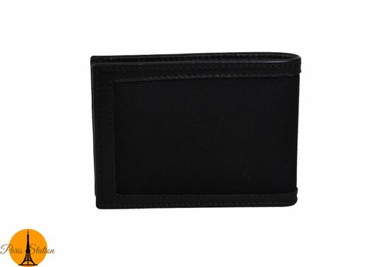 Gucci Gucci Black GG Canvas Bi-Fold Wallet Image 1