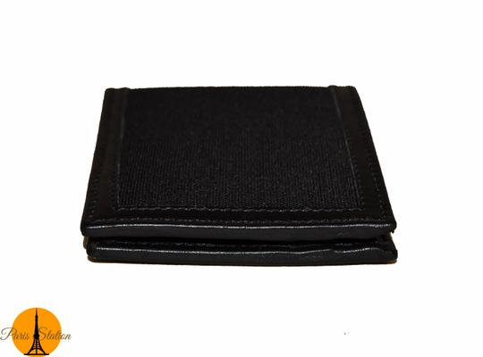 Gucci Gucci Black GG Canvas Bi-Fold Wallet Image 4
