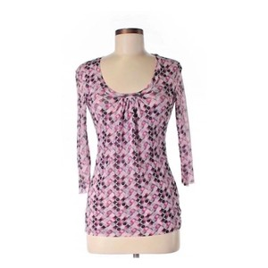 Sweet Pea by Stacy Frati Top Multi-pinks, grays and black