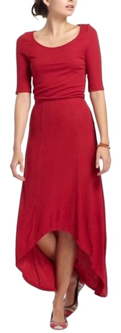 Preload https://img-static.tradesy.com/item/25028413/anthropologie-red-bordeaux-ribbed-long-casual-maxi-dress-size-4-s-0-1-650-650.jpg