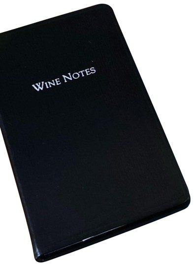 Tiffany & Co. Wine Notes Notebook Image 1