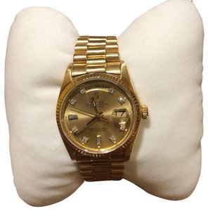 Rolex 18K Gold President men watch