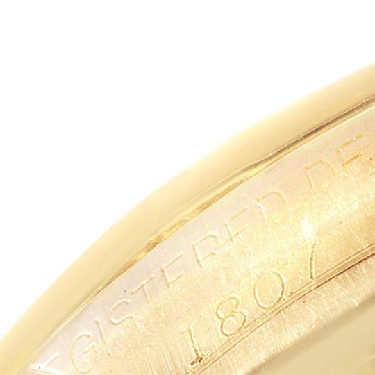 Rolex Rolex President Day-Date Yellow Gold Brown Strap Mens Watch 1807 Image 7