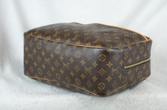 LOUIS VUITTON Deauville Leather Tote in Brown Image 1