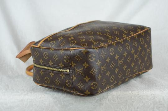LOUIS VUITTON Deauville Leather Tote in Brown Image 4