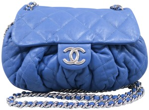 Chanel Medium Chain Around Calfskin Cross Body Bag