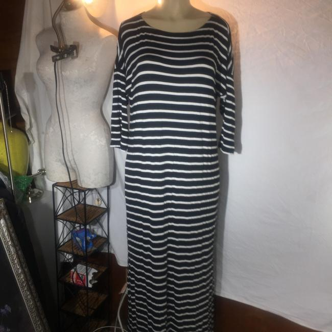 black and white Maxi Dress by Ann Taylor LOFT Image 1