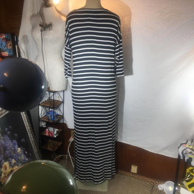 black and white Maxi Dress by Ann Taylor LOFT Image 3