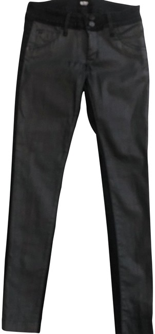 Preload https://img-static.tradesy.com/item/25028833/hudson-black-coated-collin-vice-versa-skinny-jeans-size-25-2-xs-0-1-650-650.jpg