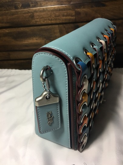 coach steel blue Clutch Image 1