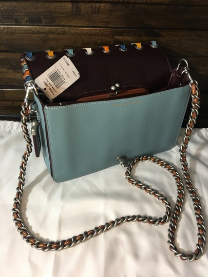 coach steel blue Clutch Image 10