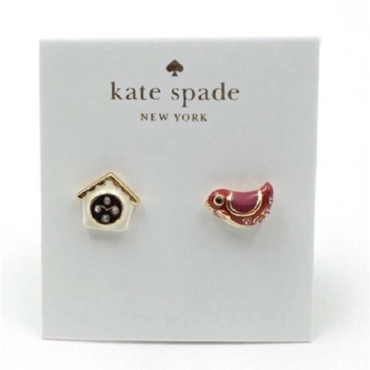 Kate Spade NEW Kate Spade Ooh La La Birdhouse Earrings Image 2