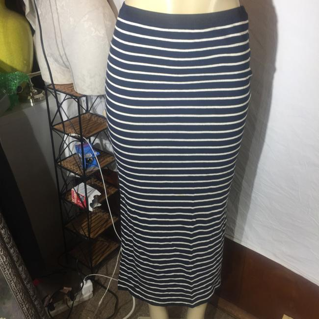 Gap Maxi Skirt black/white Image 1