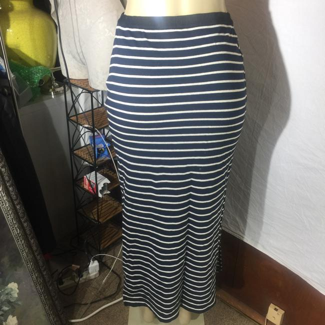 Gap Maxi Skirt black/white Image 2
