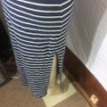 Gap Maxi Skirt black/white Image 3