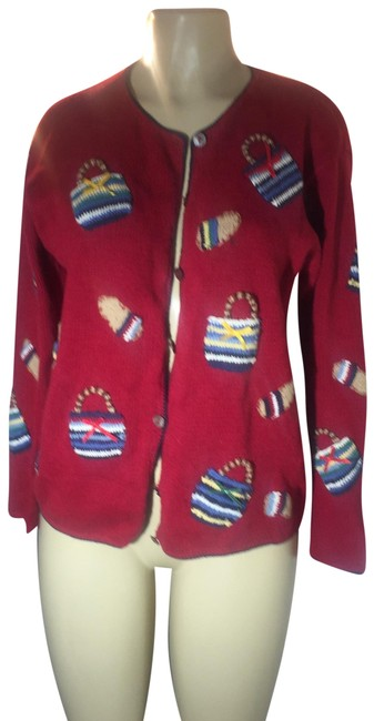 Preload https://img-static.tradesy.com/item/25028963/talbots-rare-and-unique-red-sweater-0-1-650-650.jpg