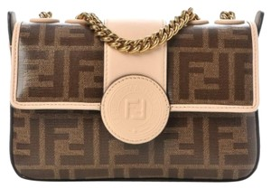 Fendi Double F Mini Shoulder Bag