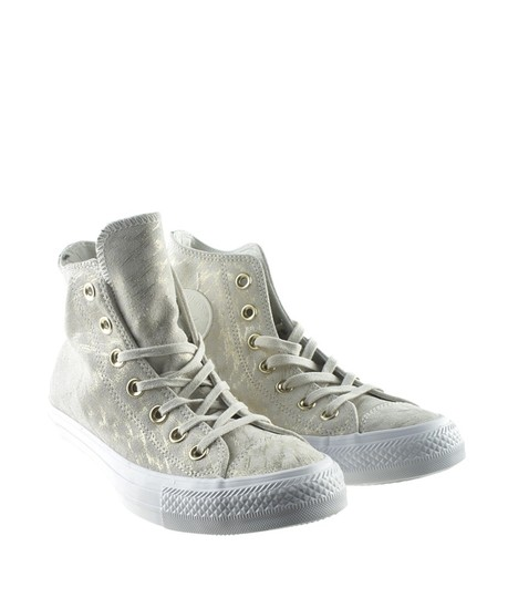 Converse Sneakers Canvas Tan Boots Image 1