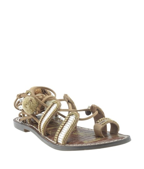 Sam Edelman Leather Brown Sandals Image 0