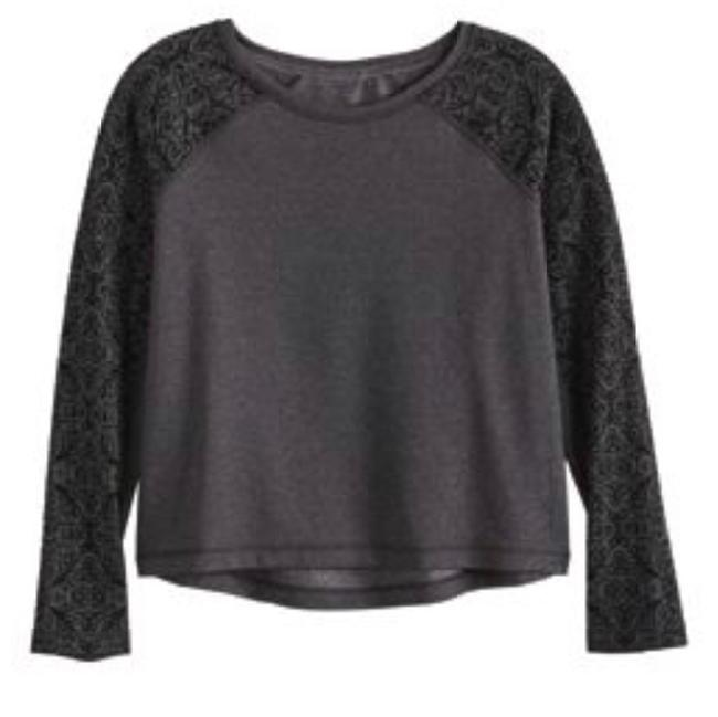 CalIa NWT Calia by Carrie Underwood Limited Edition Velvet Pieced Pullover Size Large Image 5
