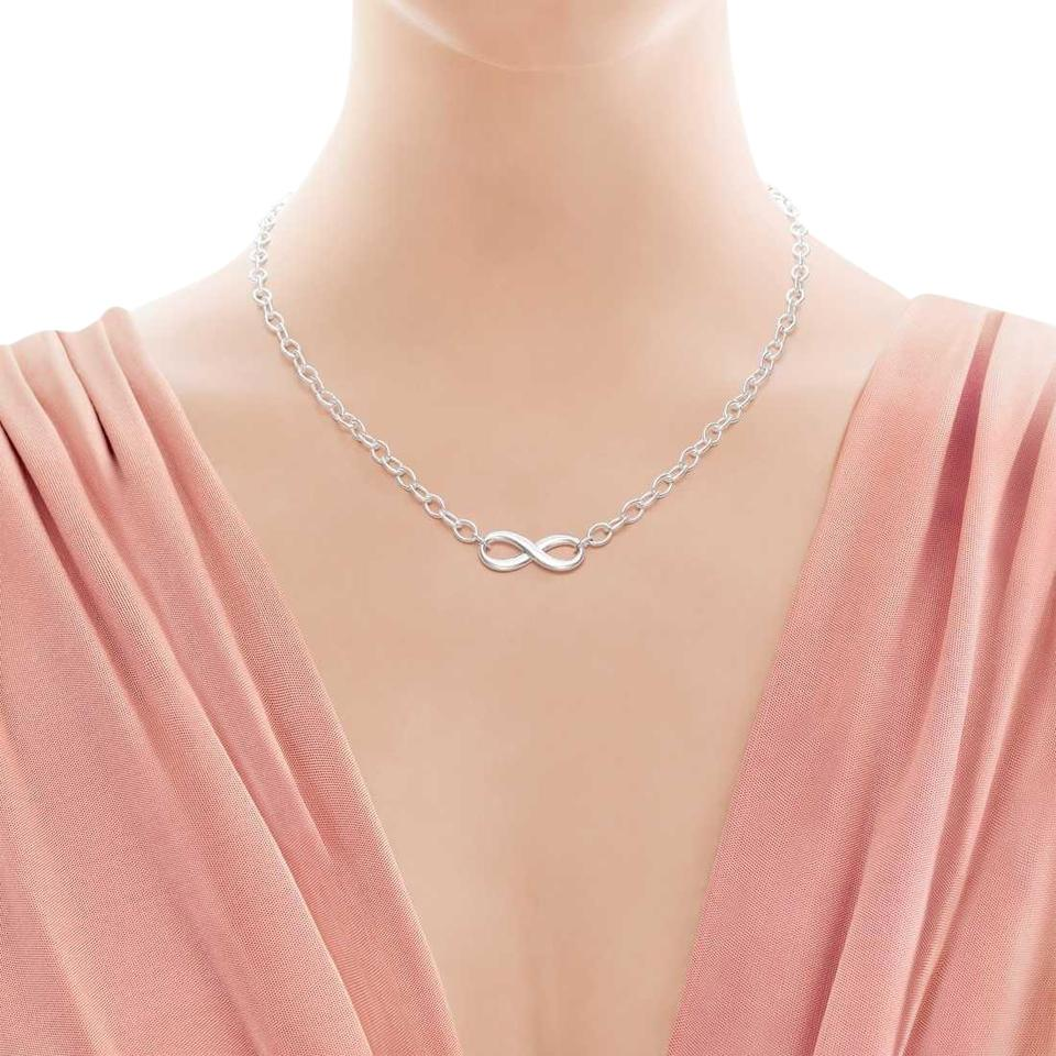 2dfd5a472 Tiffany & Co. Sterling Silver Infinity Necklace - Tradesy