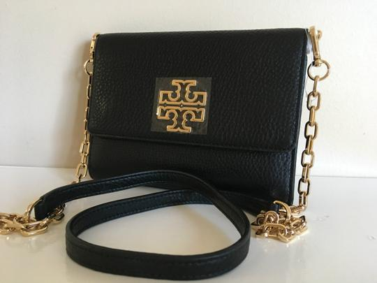 Tory Burch Travel Tote Leather Spring Summer Cross Body Bag Image 10