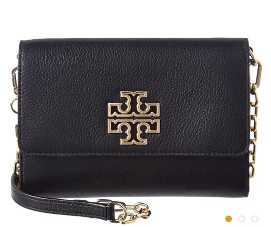 Tory Burch Travel Tote Leather Spring Summer Cross Body Bag Image 3