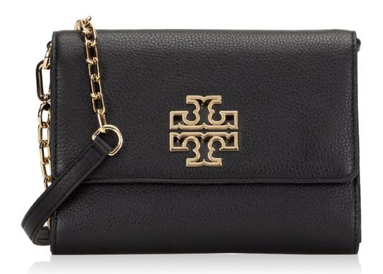 Tory Burch Travel Tote Leather Spring Summer Cross Body Bag Image 4