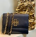 Tory Burch Travel Tote Leather Spring Summer Cross Body Bag Image 5