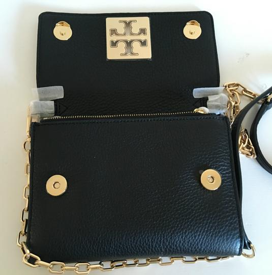 Tory Burch Travel Tote Leather Spring Summer Cross Body Bag Image 7