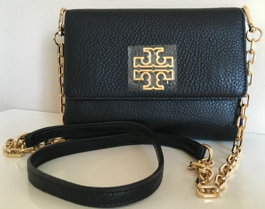 Tory Burch Travel Tote Leather Spring Summer Cross Body Bag Image 8
