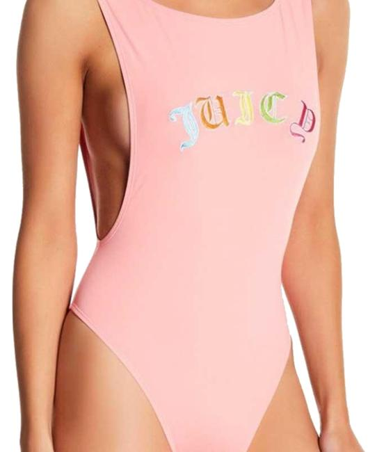 Item - Pink Embroidered Swimsuit One-piece Bathing Suit Size 2 (XS)