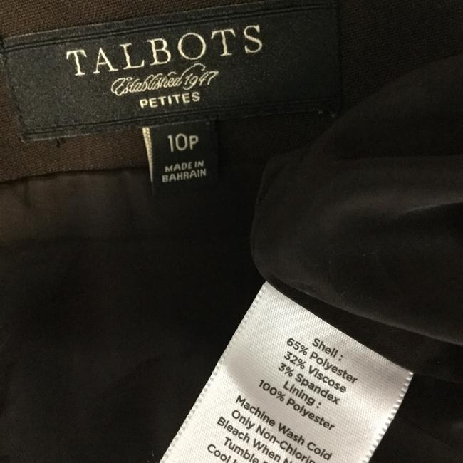 Talbots Skirt Brown Image 3