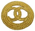 Chanel Vintage rope cutout CC broche Image 0