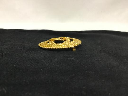 Chanel Vintage rope cutout CC broche Image 5