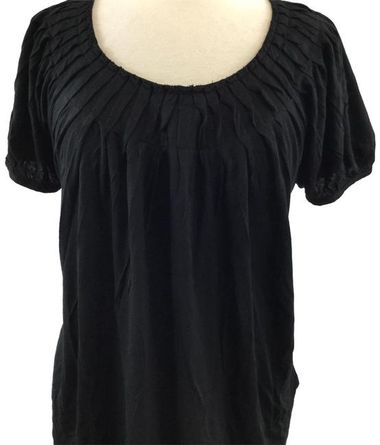 Preload https://img-static.tradesy.com/item/25029925/michael-kors-black-blouse-size-12-l-0-1-650-650.jpg