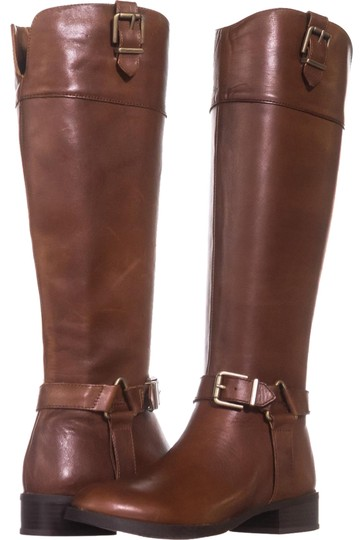 Preload https://img-static.tradesy.com/item/25029930/brown-fedee-harness-strap-riding-971-cognac-bootsbooties-size-us-5-regular-m-b-0-1-540-540.jpg