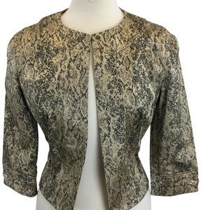 Think Tank Animal print Blazer