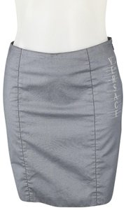 Versace Jeans Collection Mini Skirt Blue