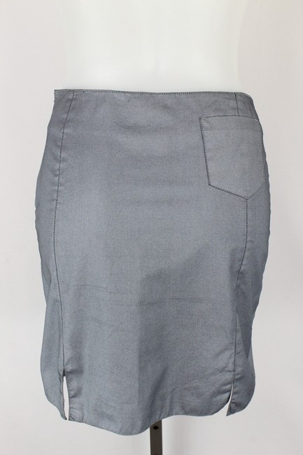 Versace Jeans Collection Mini Skirt Blue Image 1