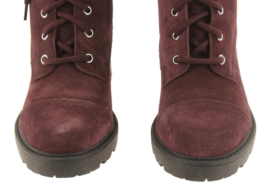 84211a91b8a Marc Fisher Purple Lanie Combat Boots/Booties Size US 7.5 Regular (M, B)  66% off retail