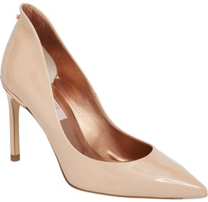 72792ee76223a3 Ted Baker Heel Beige   Nude Patent Leather Pumps
