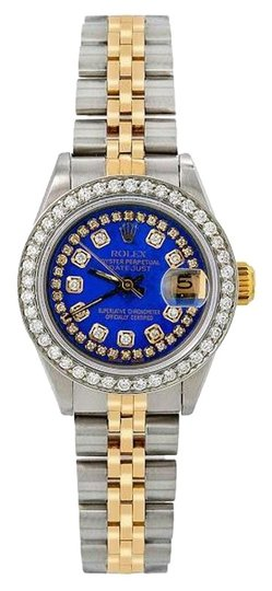 Preload https://img-static.tradesy.com/item/25030434/rolex-blue-lady-datejust-69173-26mm-diamond-dial-with-105-ct-diamonds-watch-0-1-540-540.jpg