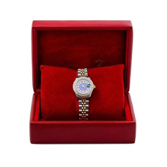 Rolex ROLEX LADY-DATEJUST 69173 26MM BLUE DIAMOND DIAL WITH 1.05 CT DIAMONDS Image 5