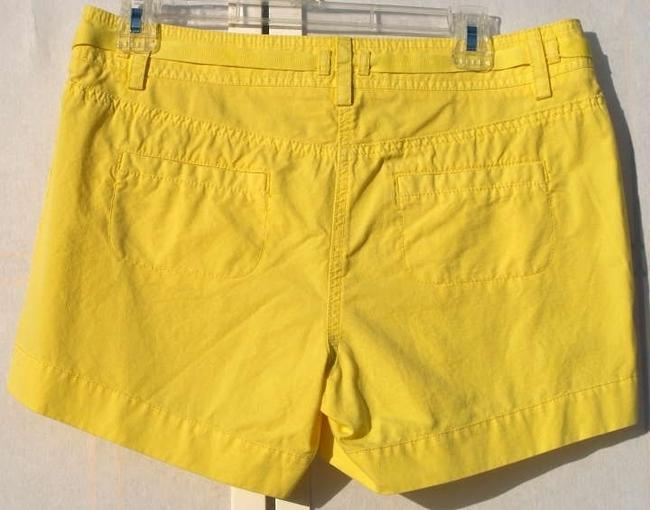 J.Crew Mini/Short Shorts Bright yellow