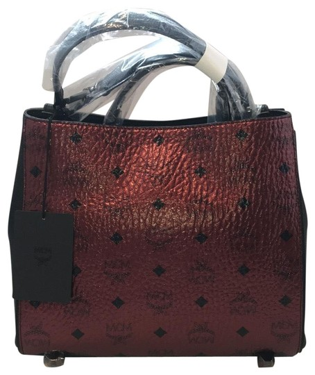 Preload https://img-static.tradesy.com/item/25030508/mcm-scooter-red-leather-tote-0-1-540-540.jpg